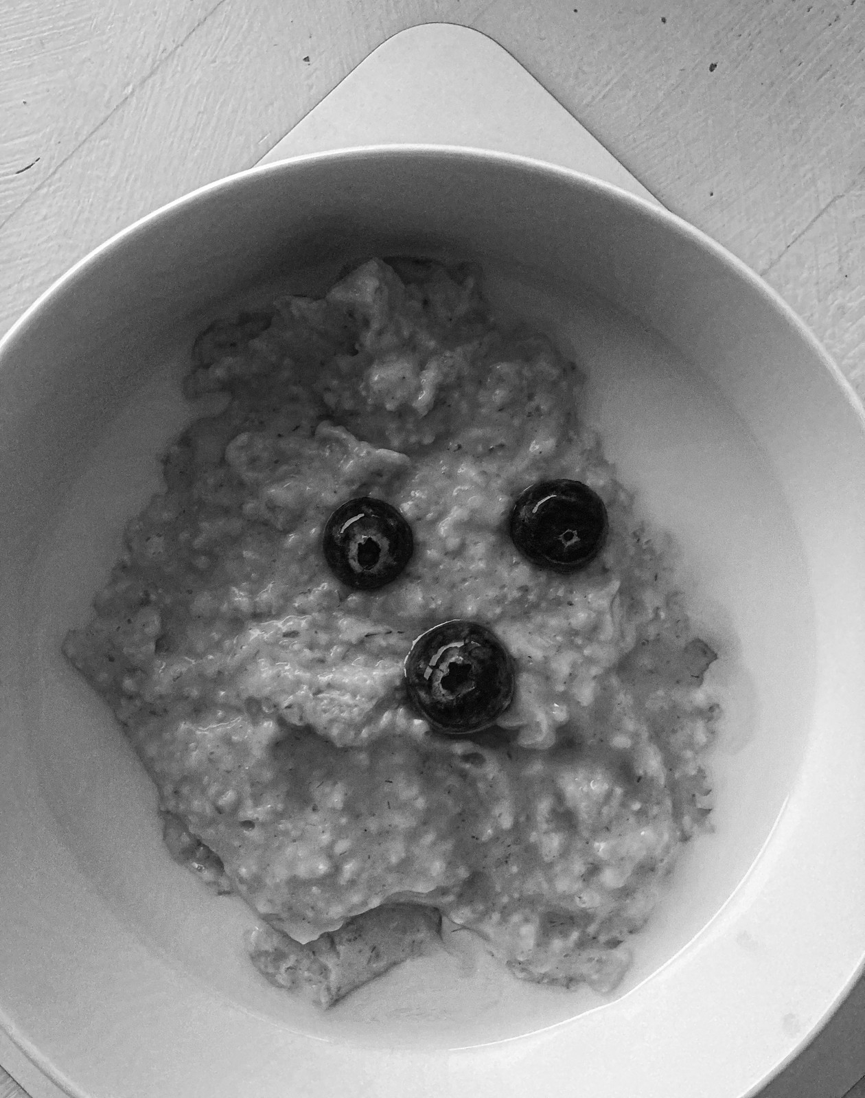Don't call me porridge face