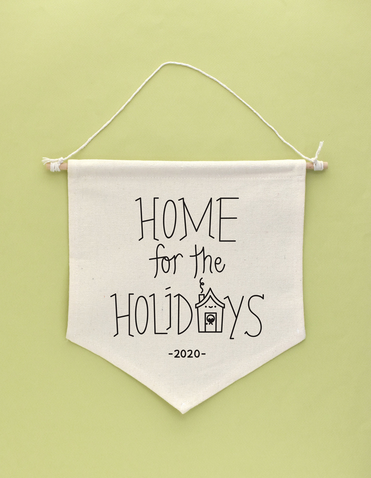 Home For The Holidays Hand Embroidery Pattern