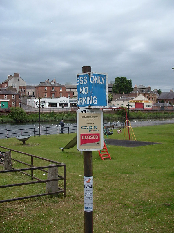 Covid Stops Play. Dumfries 2020. S3000