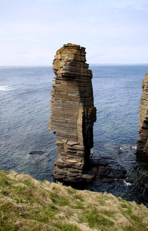 The coast at Castle Sinclair Girnigoe