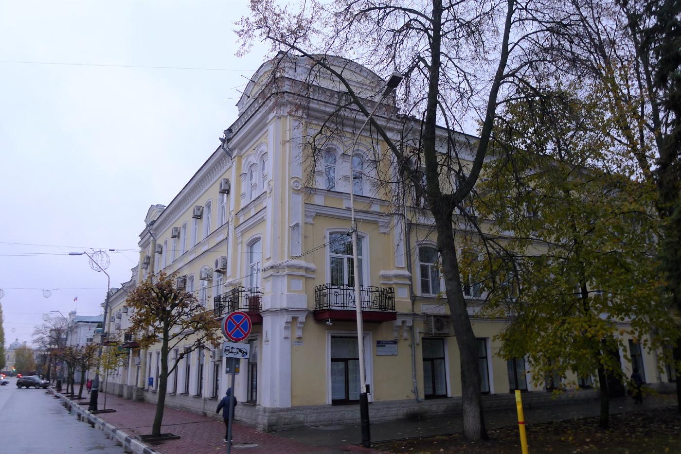 Русский Юг: Тамбов (Усадьба Асеевых, город) P1100377
