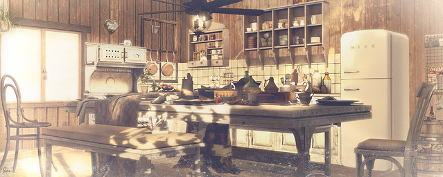 The Winter Cabin - Kitchen & Dining