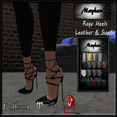 Mayhem Rage Heels for Vendor