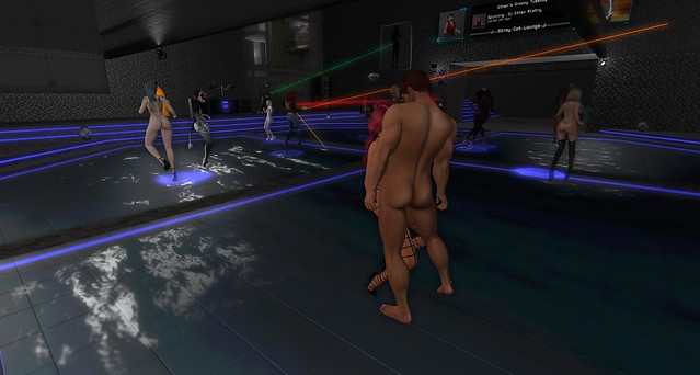 Naked Halftime with DJ Ethan and Host Rowgen