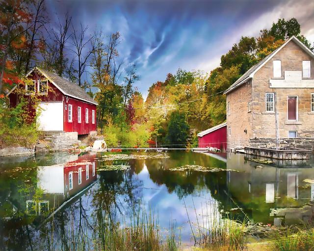 Morningstar Mill in Autumn