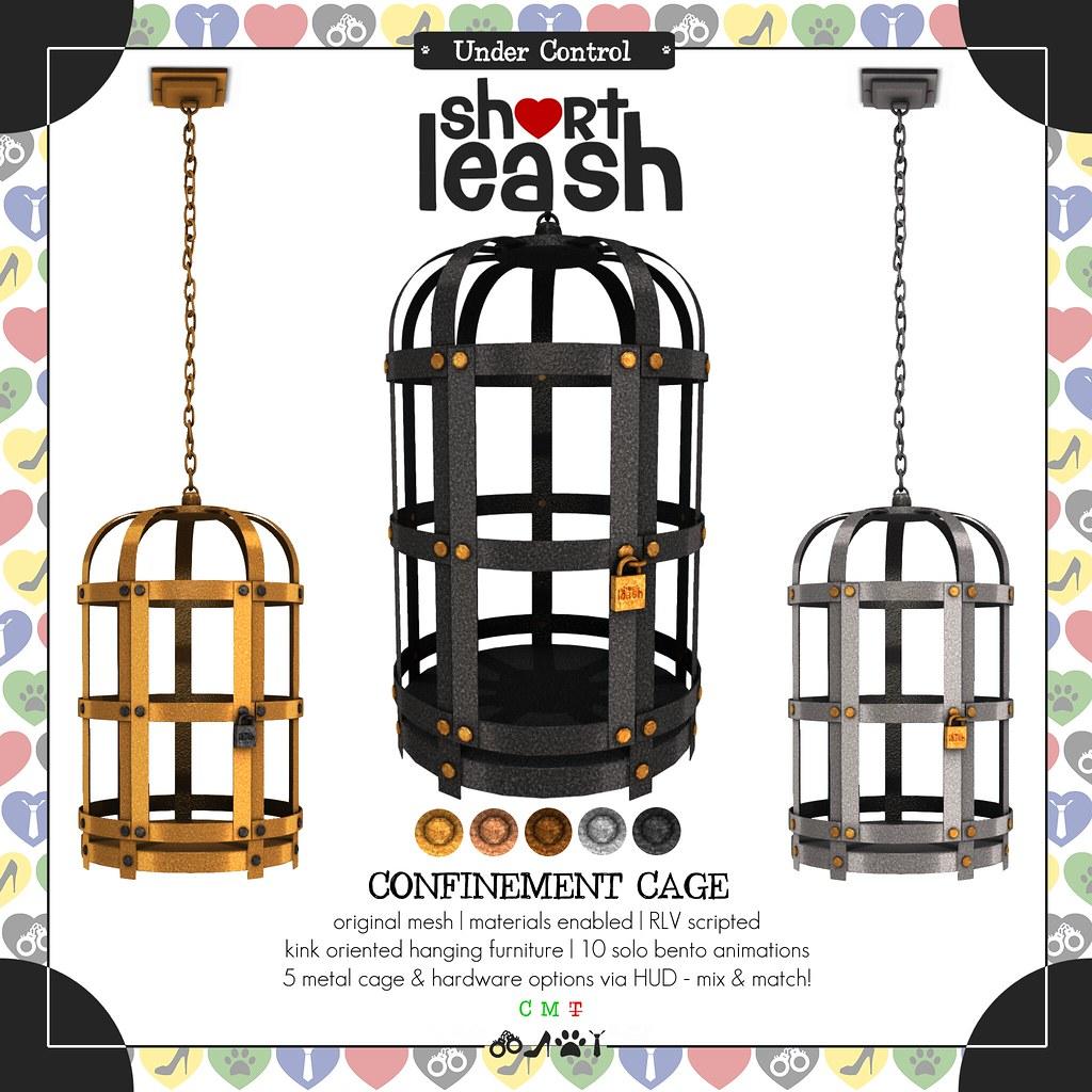 .:Short Leash:. Confinement Cage