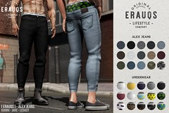 [ ERAUQS ] - Alex Jeans at Man Cave