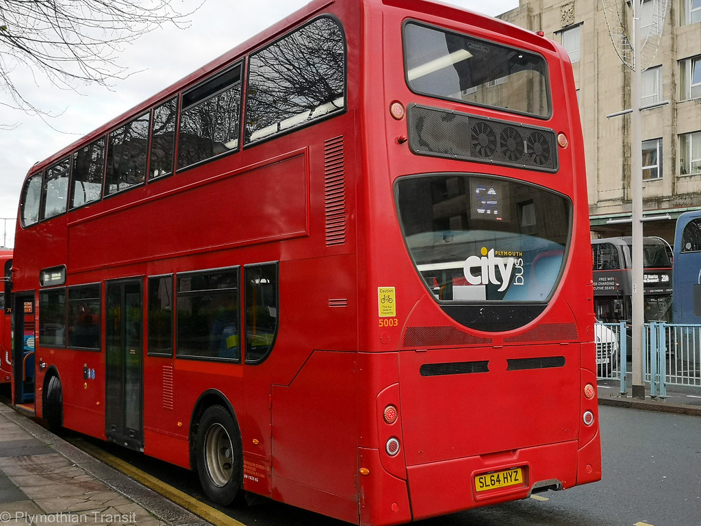 Plymouth Citybus 5003 SL64HYZ