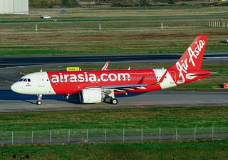 F-WWDU Airbus A320 Neo Air Asia