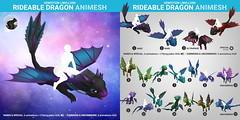 SEmotion Libellune Rideable Dragon Animesh
