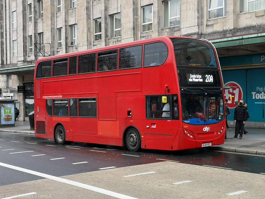 Plymouth Citybus 5001 SL64HZC