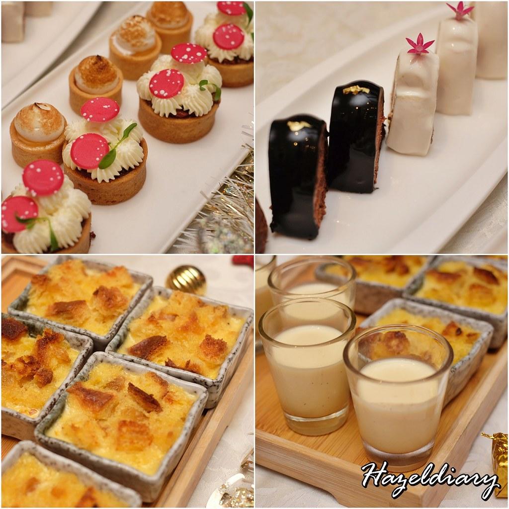 conrad centennial singapore christmas 2020-Desserts