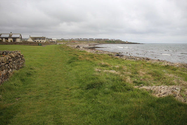 The coast south of Keiss