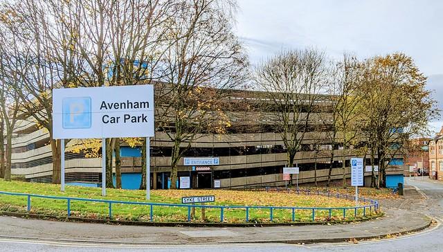 Avenham Car Park Preston