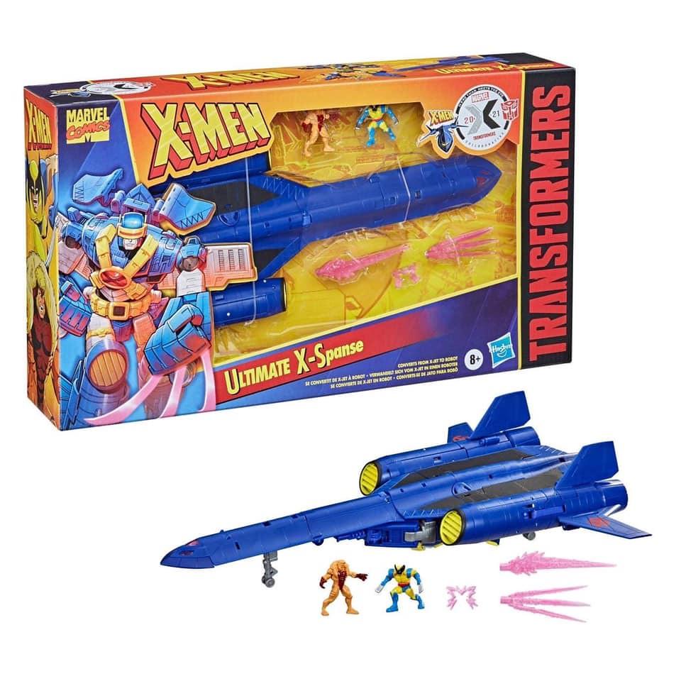 孩之寶 漫威X戰警 ×《變形金剛》【Ultimate X-Spanse】登場!變種人最可靠的盟友
