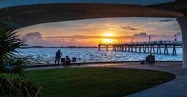Sunset on Sarasota Bay