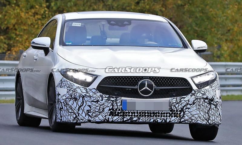 mercedes-cls-facelift-spied-nurburgring-2
