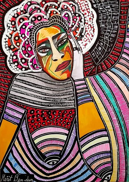 בן נון מירית ציירת אמנית יוצרת עכשווית אמנות מודרנית ישראלית