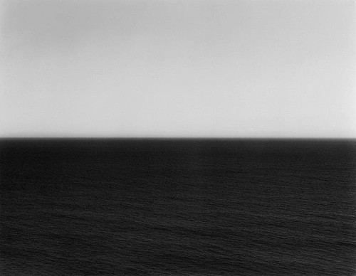Hiroshi Sugimoto with your back to the earth