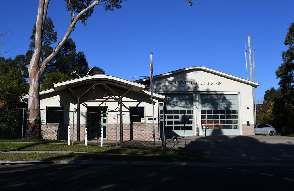 Fire Station, Kellyville, Sydney, NSW.