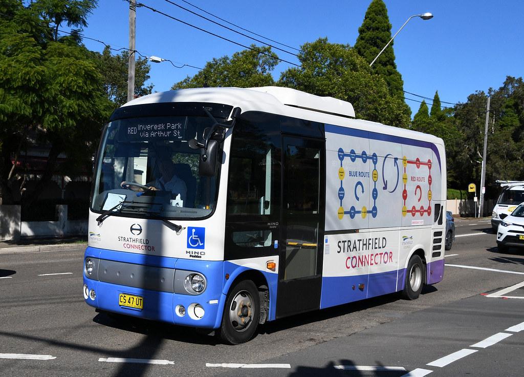 Gladys Dial a Bus, Strathfield, Sydney, NSW.