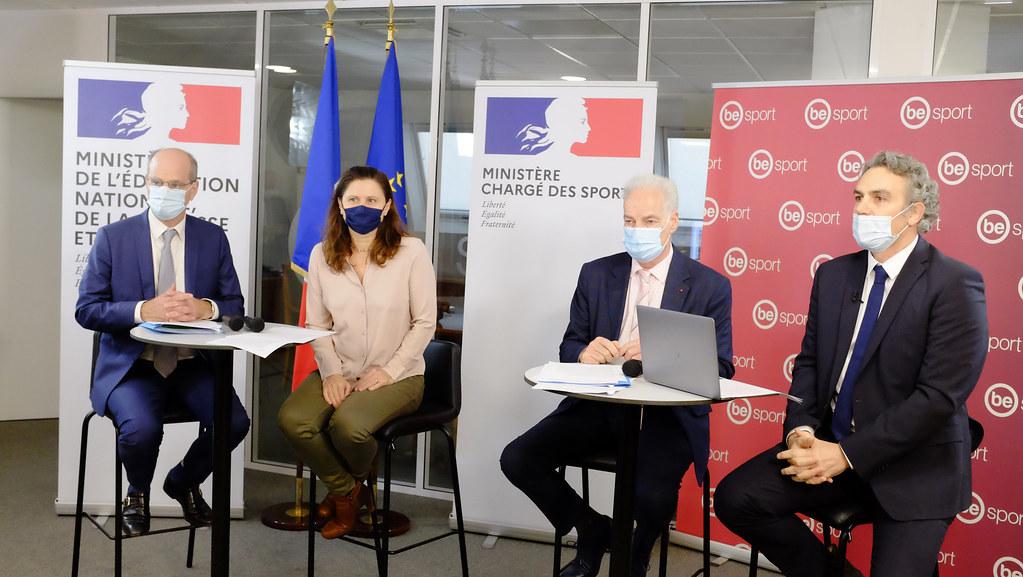 Mercredi 18 novembre : Temps d'échange avec les acteurs sportifs sur les mesures d'aide d'urgence et le plan de relance