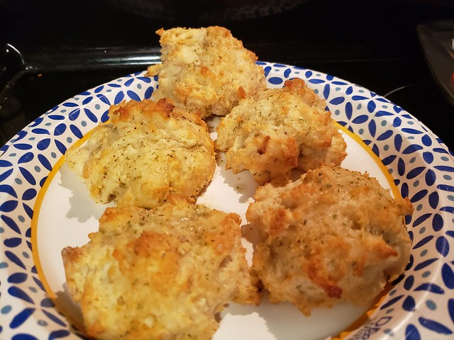 Parmesan Rosemary Garlic Biscuits