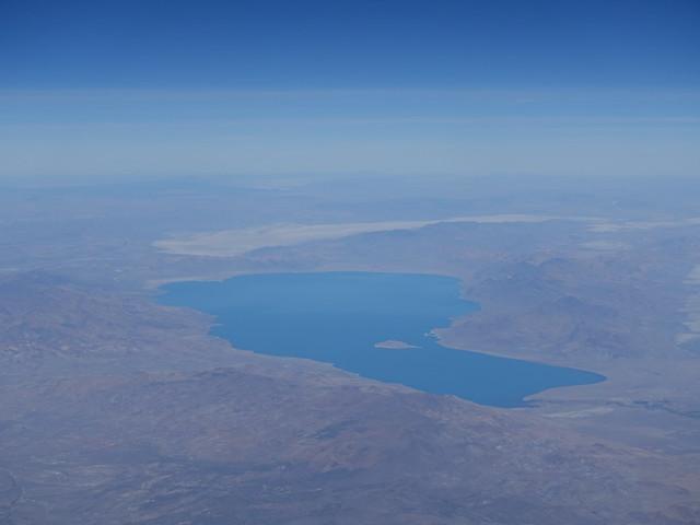 202010317 AA16 SFO-JFK Pyramid Lake