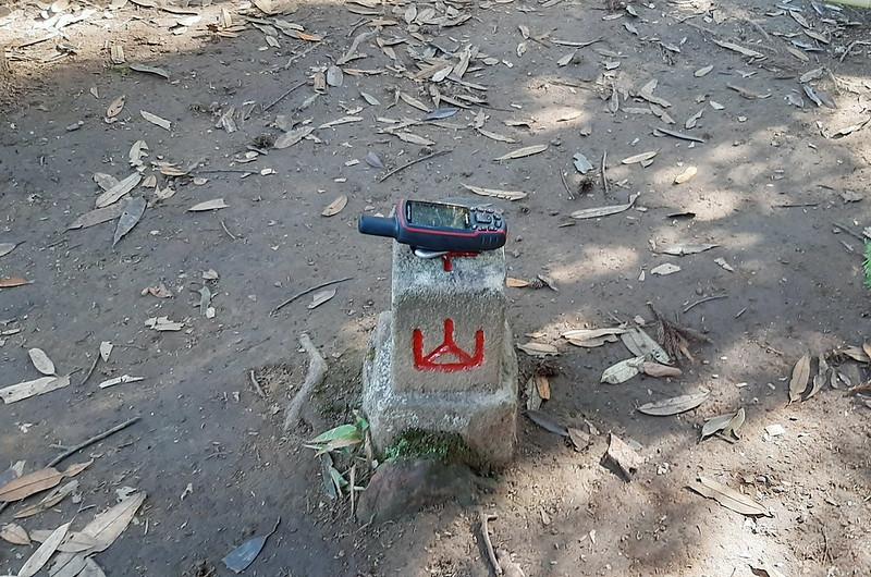三角湖山冠字補川(07)山字森林三角點(Elev. 850 m) (2)