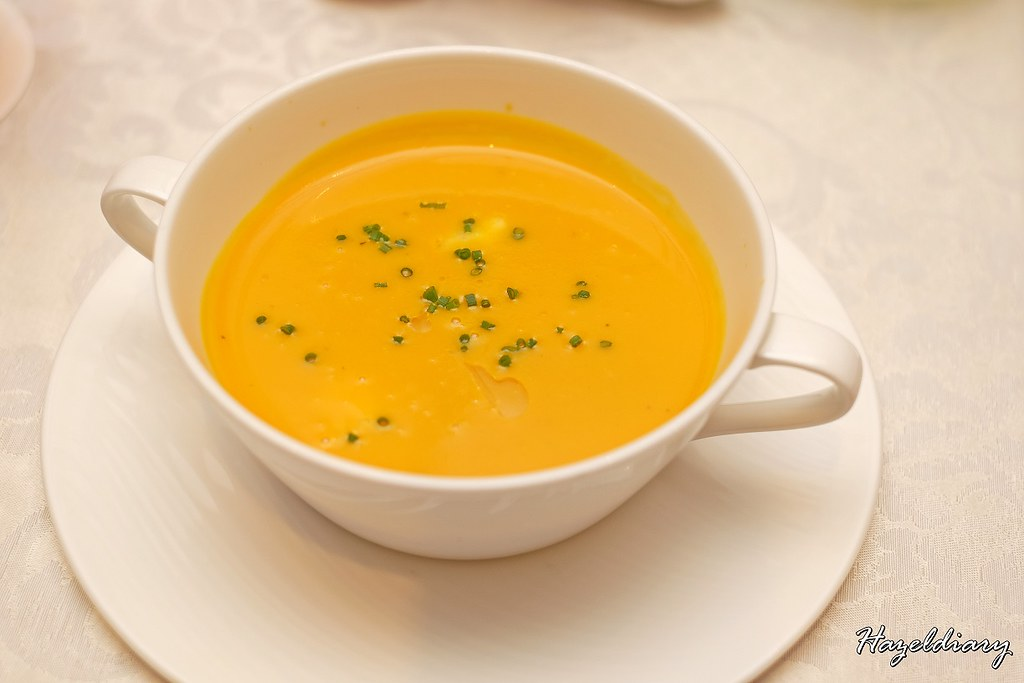 conrad centennial singapore christmas 2020-Roasted Pumpkin soup