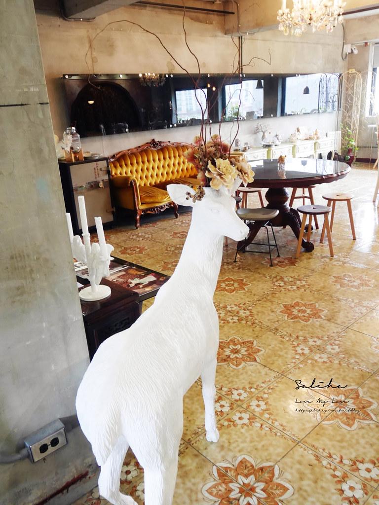 台北老屋咖啡廳下午茶推薦玩味沙龍不限時可久坐閱讀好拍浪漫氣氛好 (2)