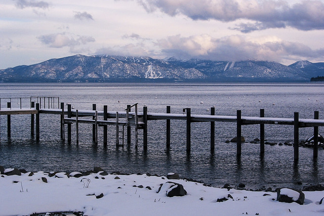Docks on Lake Tahoe