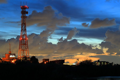 ichikawa chiba japan sunset