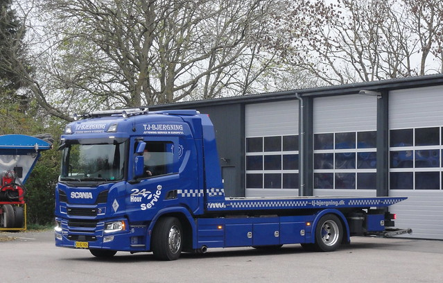 Next Generation Scania P280 CK82906 auto recovery truck