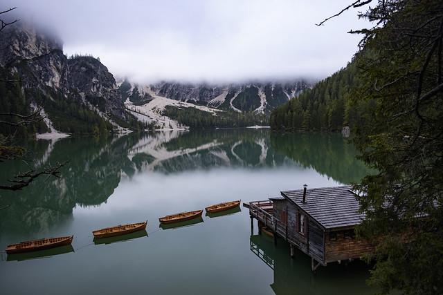 Lago di Braies - Dolomiti - Sylvain Brajeul ©