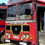 NA-4997 Ampara Depot Ashok Leyland - Viking 193 Hino Power B type bus at Nuwaraeliya in 09.09.2012