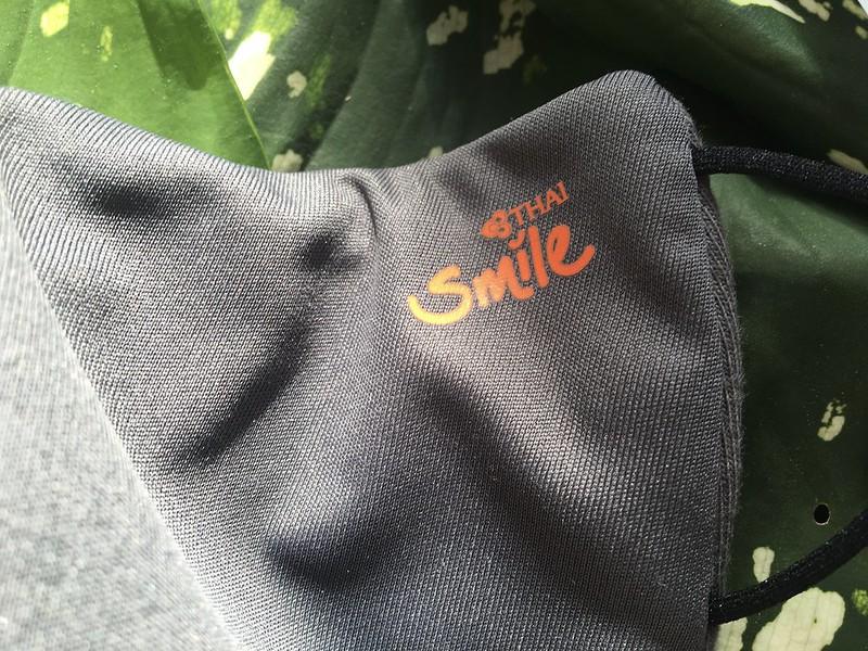 😍thai smile goods arrived✈️ タイスマイルエアーロゴグッズをネットで。