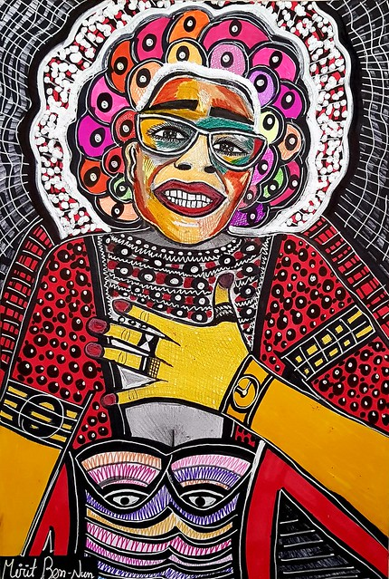 בן נון מירית אמנית ציירת יוצרת ישראלית יצירות אמנות מודרניות