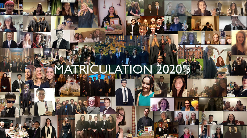Girton Matriculation Dinner 2020