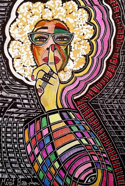 בן נון מירית ציירת אמנית יוצרת רב תחומית אמנות ישראלית מודרנית