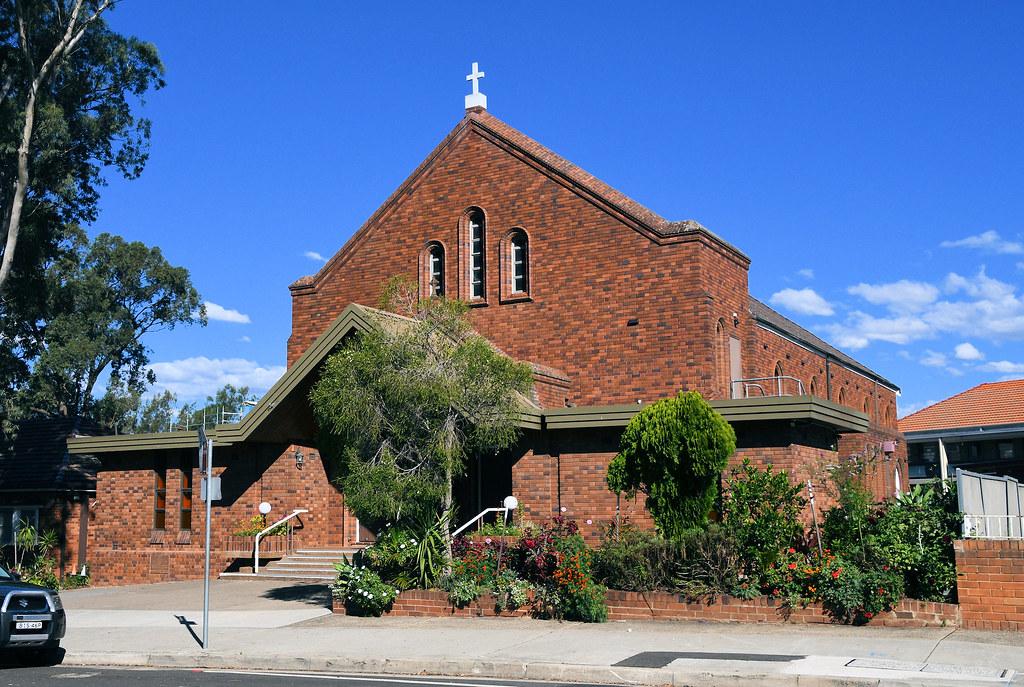 St Patrick's Catholic Church, Guilford, Sydney, NSW.