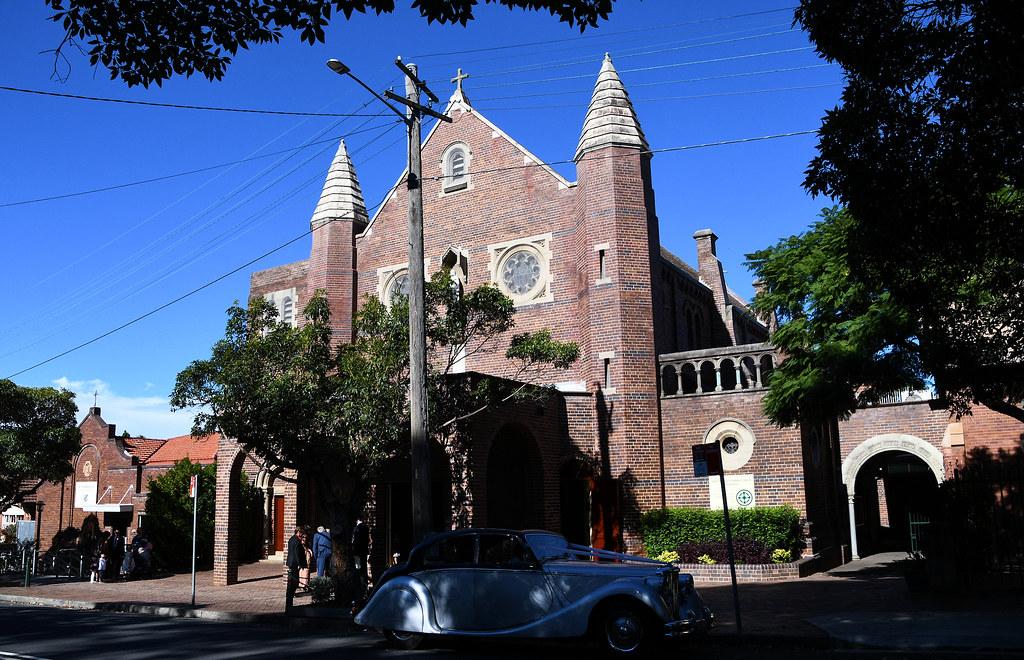 St Martha's Catholic Church, Strathfield, Sydney, NSW.
