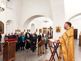 15.11.2020 | Божественная литургия в Юрьевом монастыре