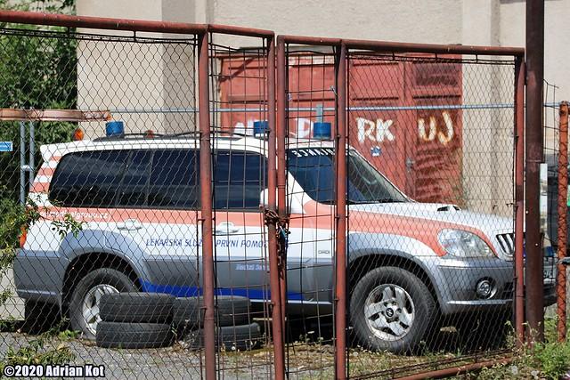 Hyundai Terracan ambulance