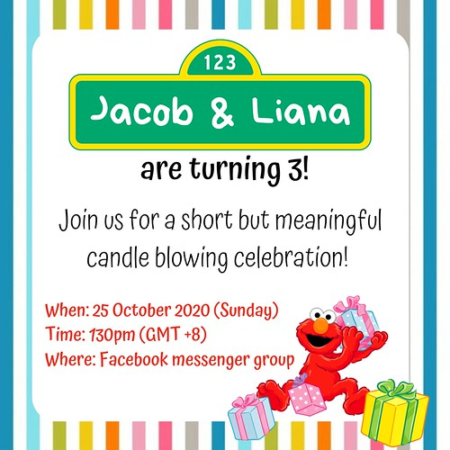 Jacob Liana 3rd Birthday