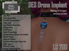 DESDrone Implant
