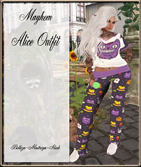 Mayhem Alice Outfit