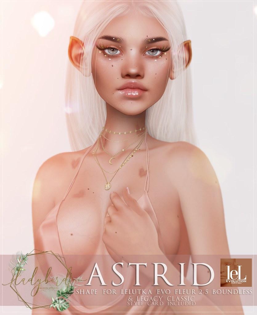 Ladybird. // Astrid for Lelutka Fleur BOUNDLESS! <3