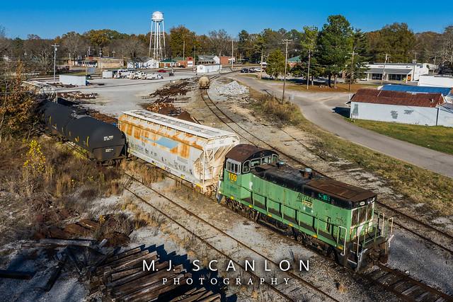 PREX 109 | EMD NW2R | Mississippi Central Railroad