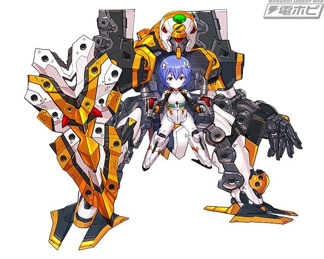 《Desktop Army》X《福音戰士》初號機、零號機、8號機 商品化確定!